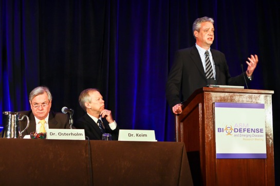 ASMBiodefense 2012 - H5N1 Research Discussion(Photo by Chris Condayan)